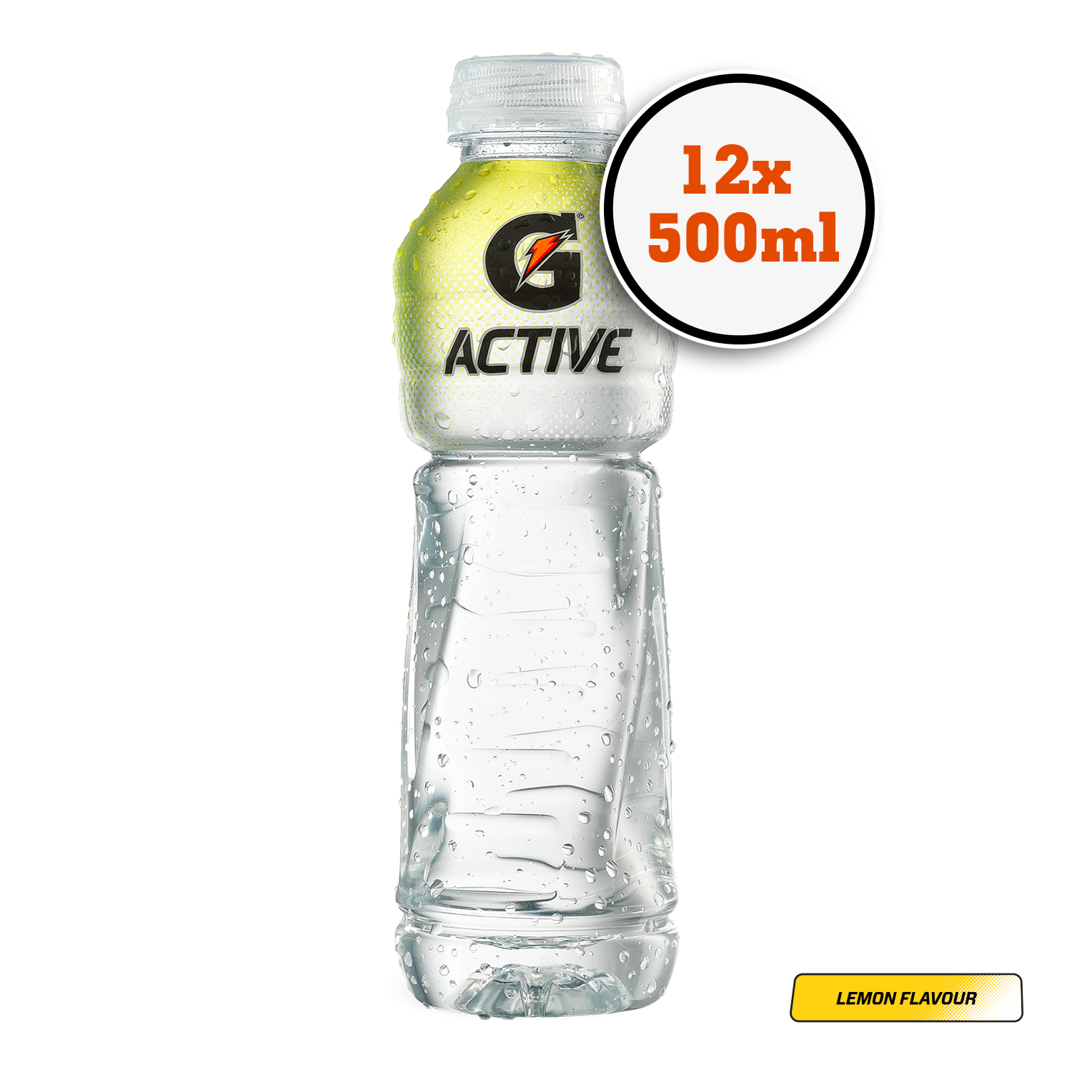 5ecc7cbdd9030 Details about Gatorade G Active Lemon Sports Drink with Electrolytes Pack  of 12 500ml