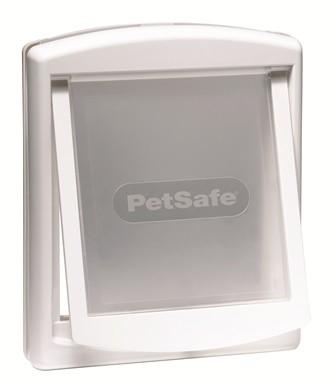 Petsafe Staywell 740 White Medium Dog Pet Door With Transparent Flap